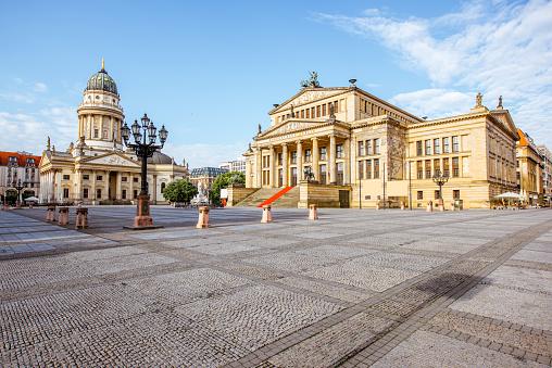Berlin city view