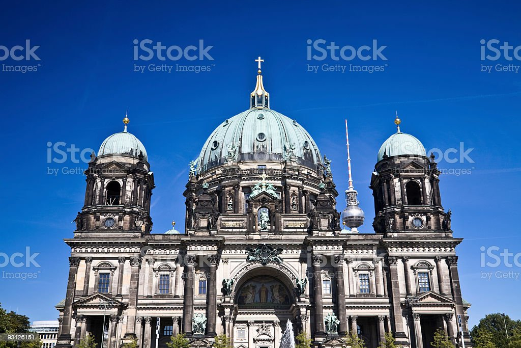 berlin dome royalty-free stock photo