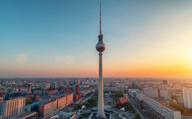 Berlin bei Sonnenuntergang – Foto