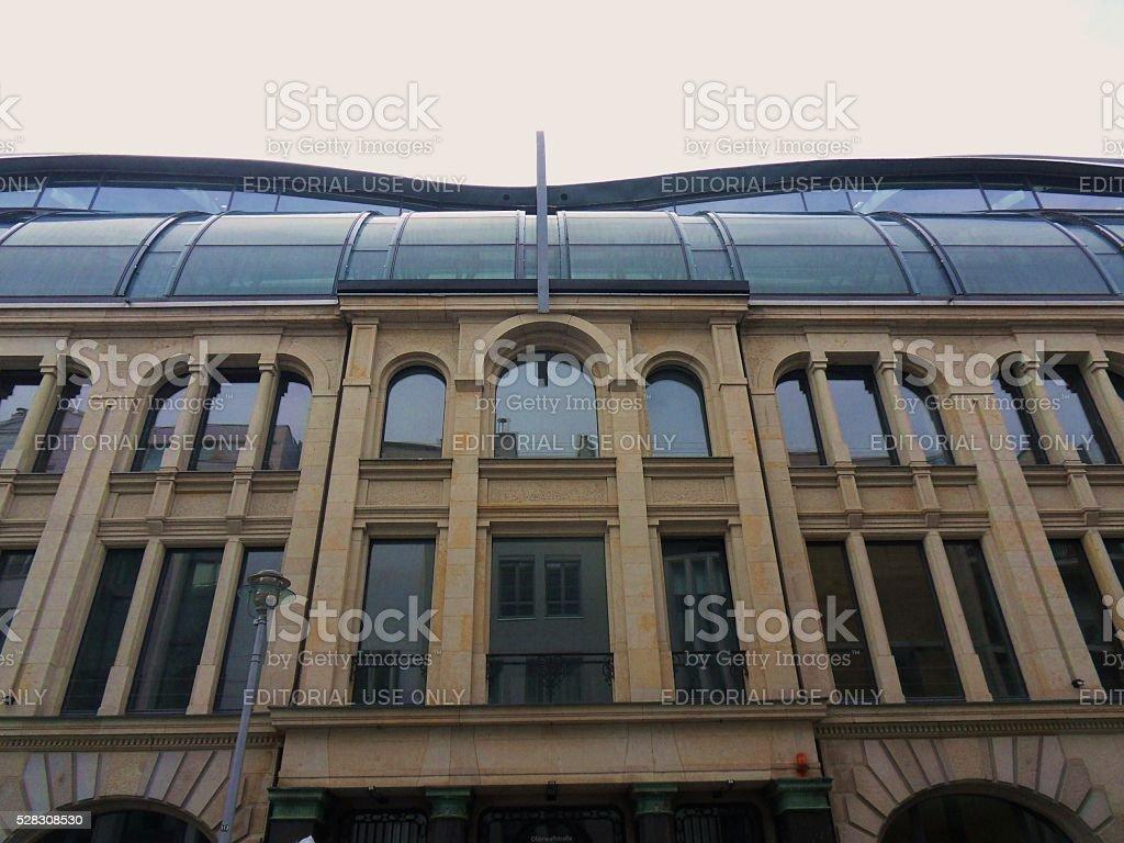 Berlino - Ex centro di trasmissioni SAT 1 stock photo