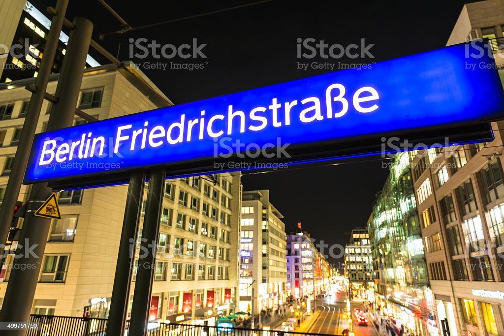 Berlin Friedrichstrasse – Foto