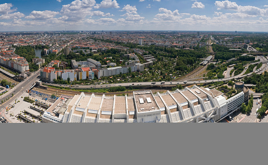 Berlin Funkturm ICC cityscape