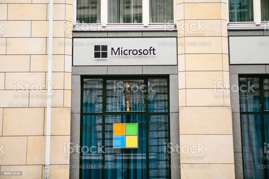 Microsoft Corporation or MS. Operating room of Windows system or...