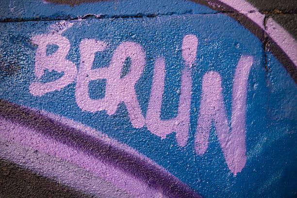 Berlin graffiti-Wand – Foto