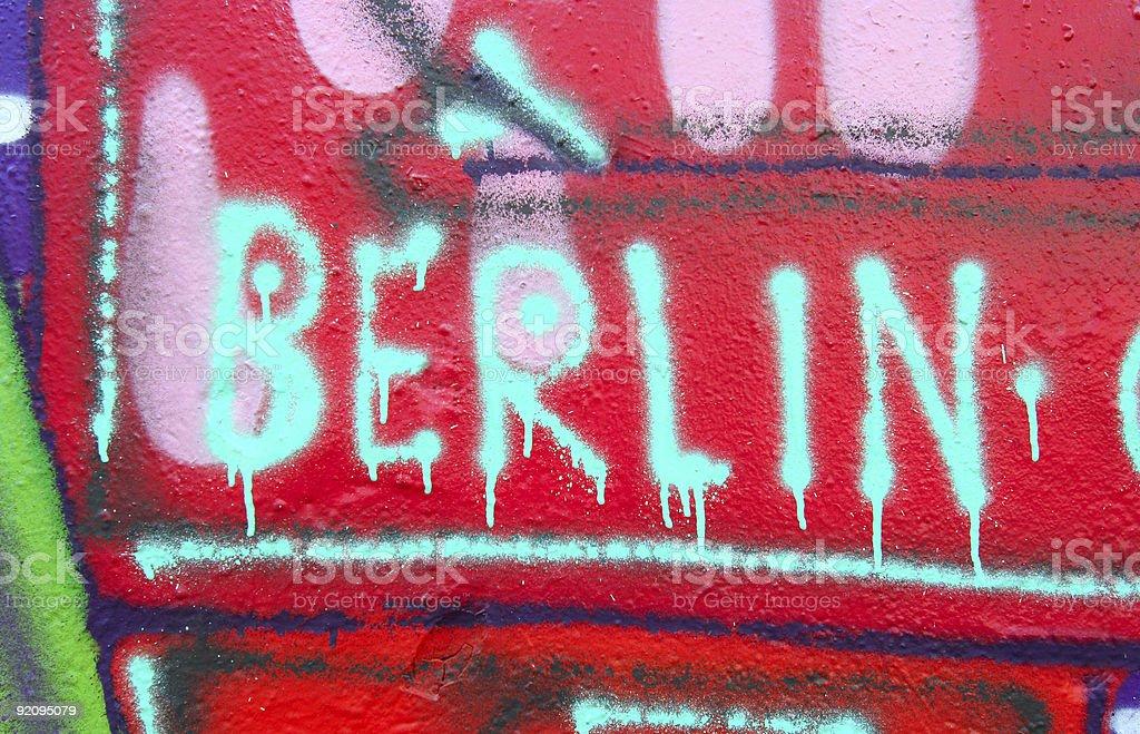Berlin Grafitti stock photo