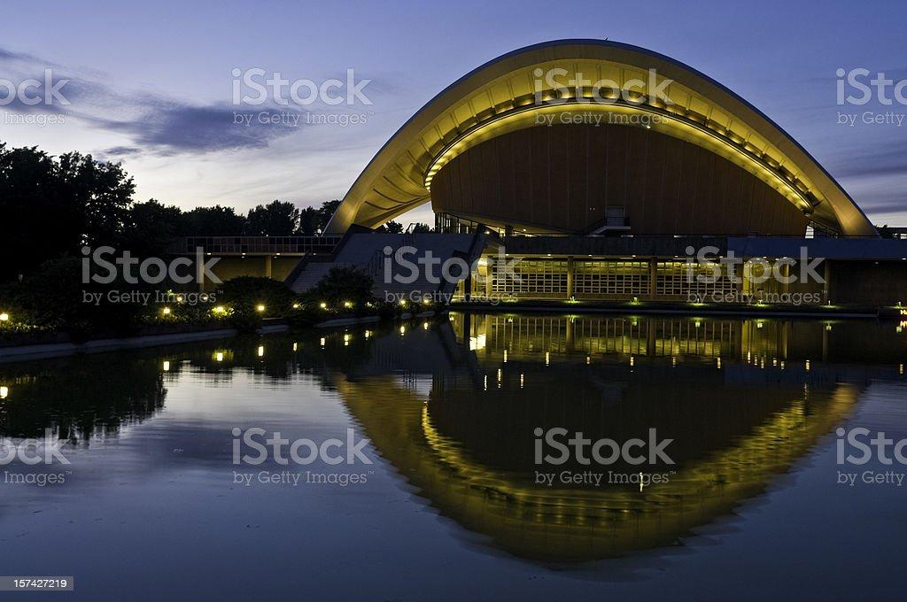 Berlin Haus Kulturen der Welt stock photo