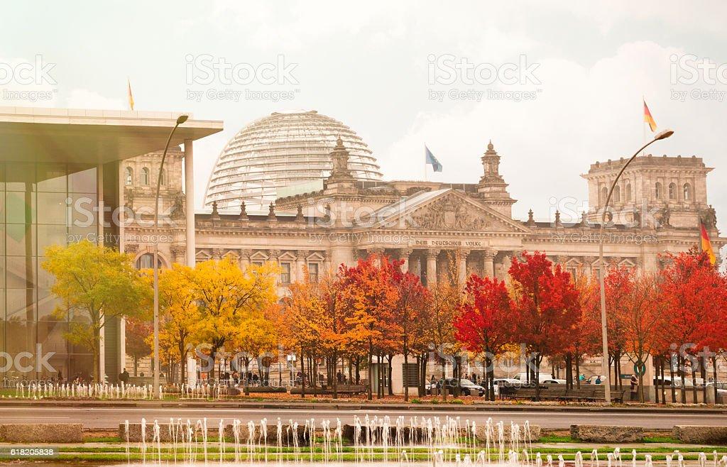 Berlin im Herbst – Foto