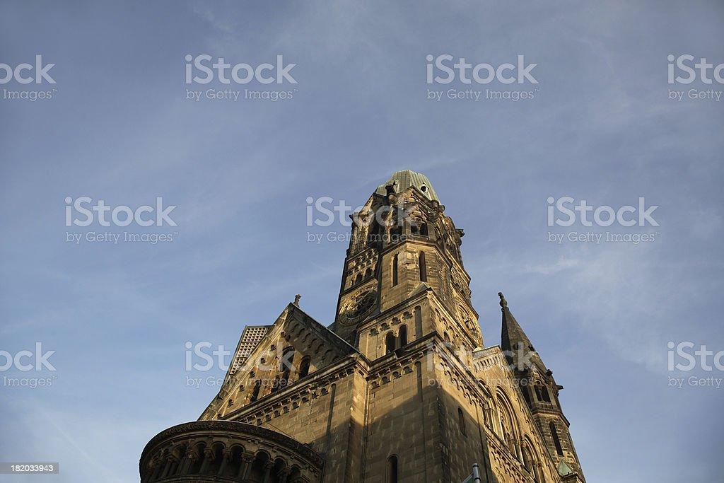 Berlin: Kaiser Wilhelm Gedachtniskirche royalty-free stock photo