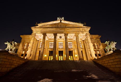 Berlin Konzerthaus At Night
