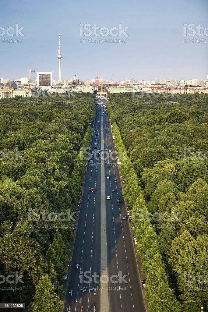 Berlin Landmarks and Cityscape royalty-free stock photo