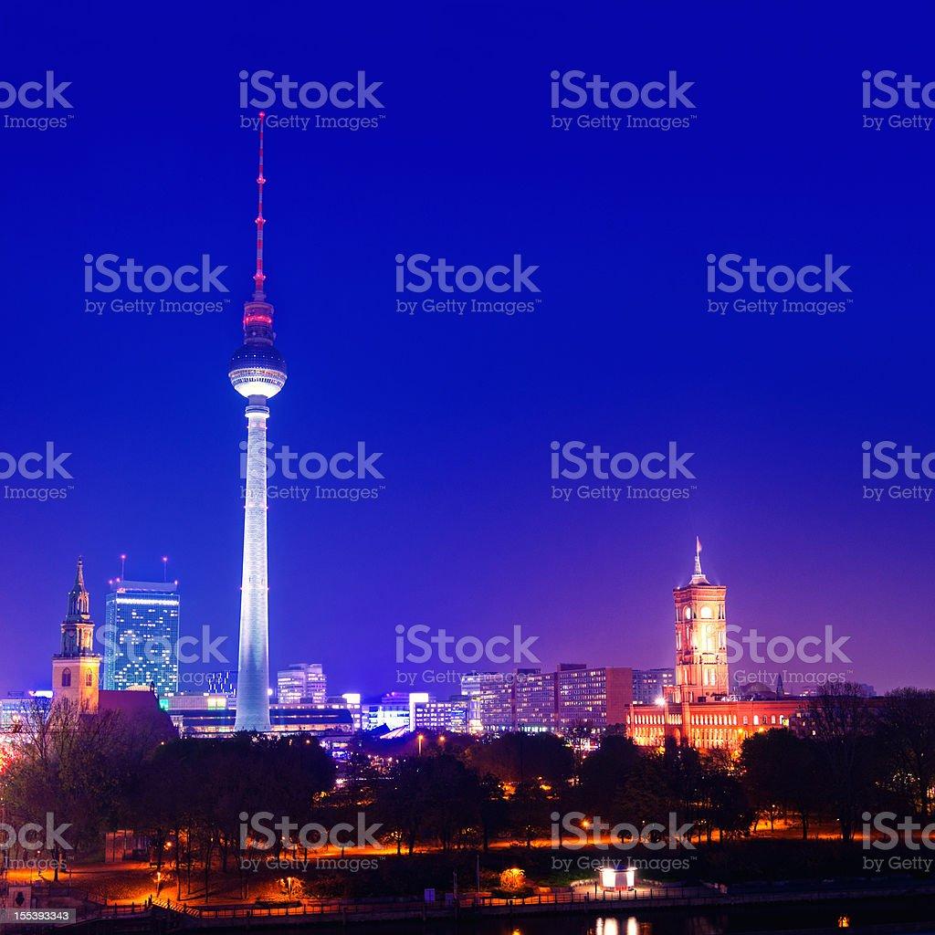Berlin Landmarks royalty-free stock photo