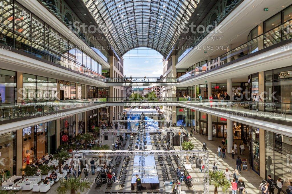 Berlin Mall stock photo
