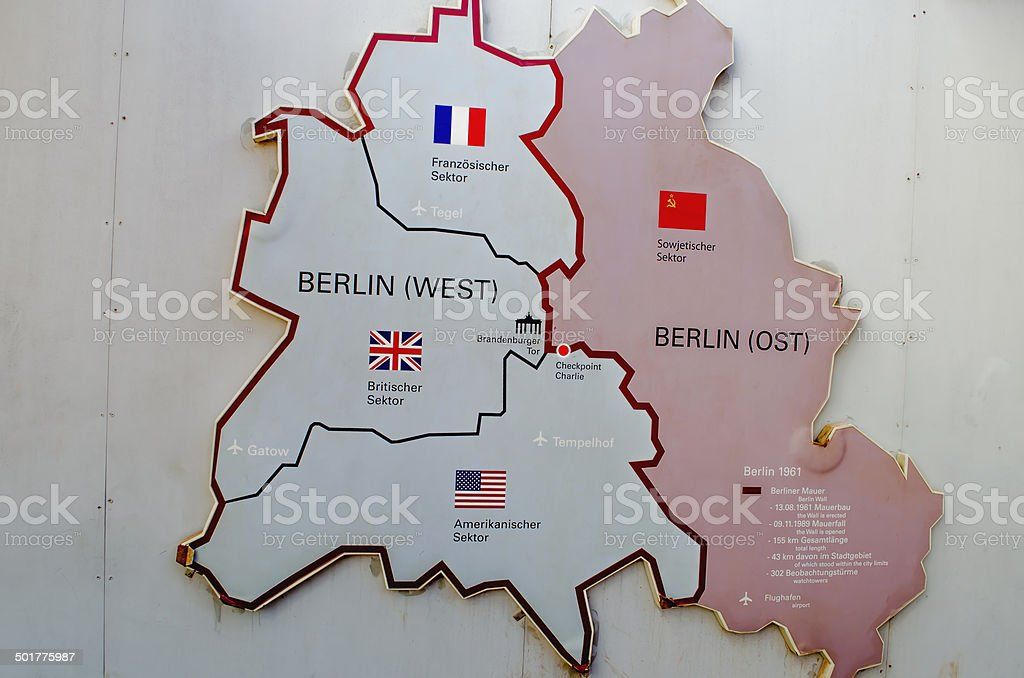 Berlin Karte – Foto