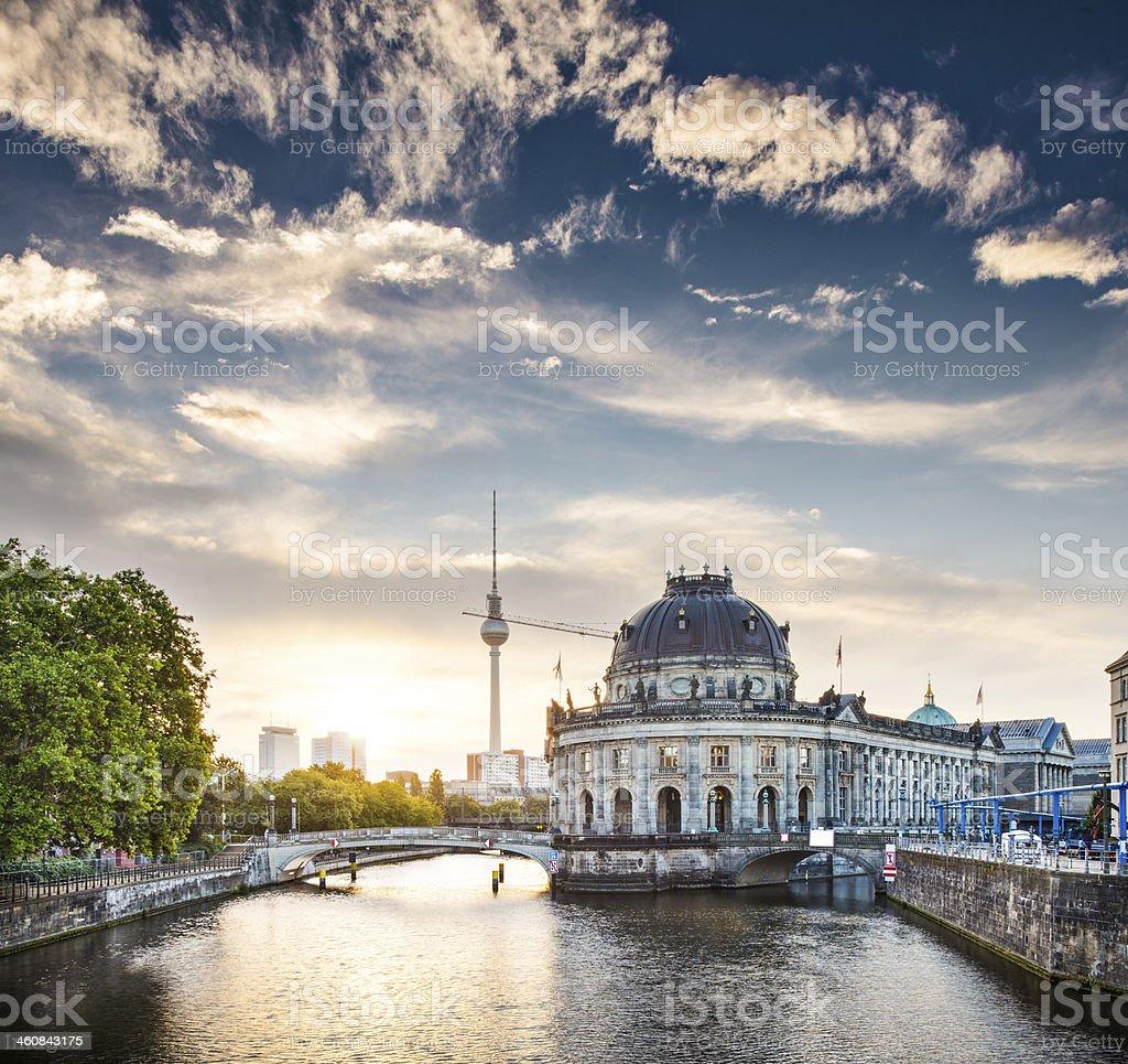 Berlin Morning stock photo