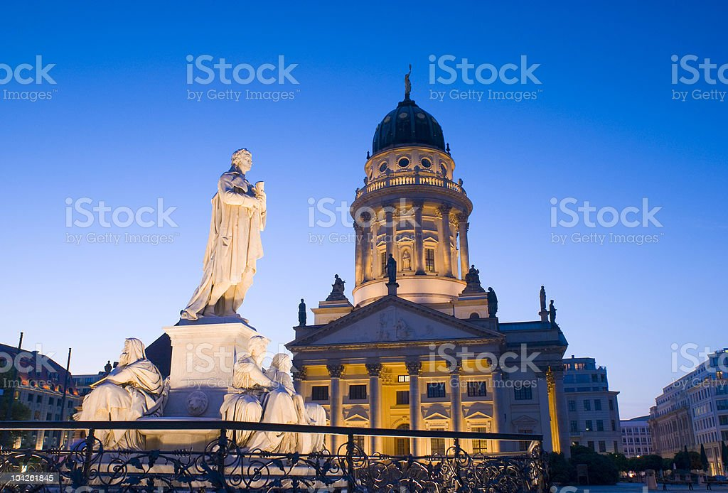Berlin nights royalty-free stock photo