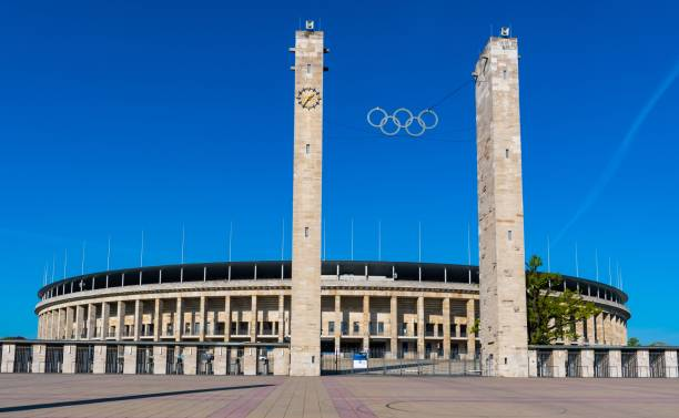 148 Olympiastadion Berlin Stock Photos Pictures Royalty Free Images Istock