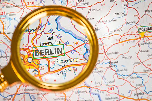 Royalty Free Berlin On A Map Pictures, Images and Stock Photos - iStock