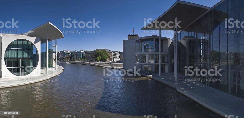 Berlin Parliament buildings royalty-free stock photo