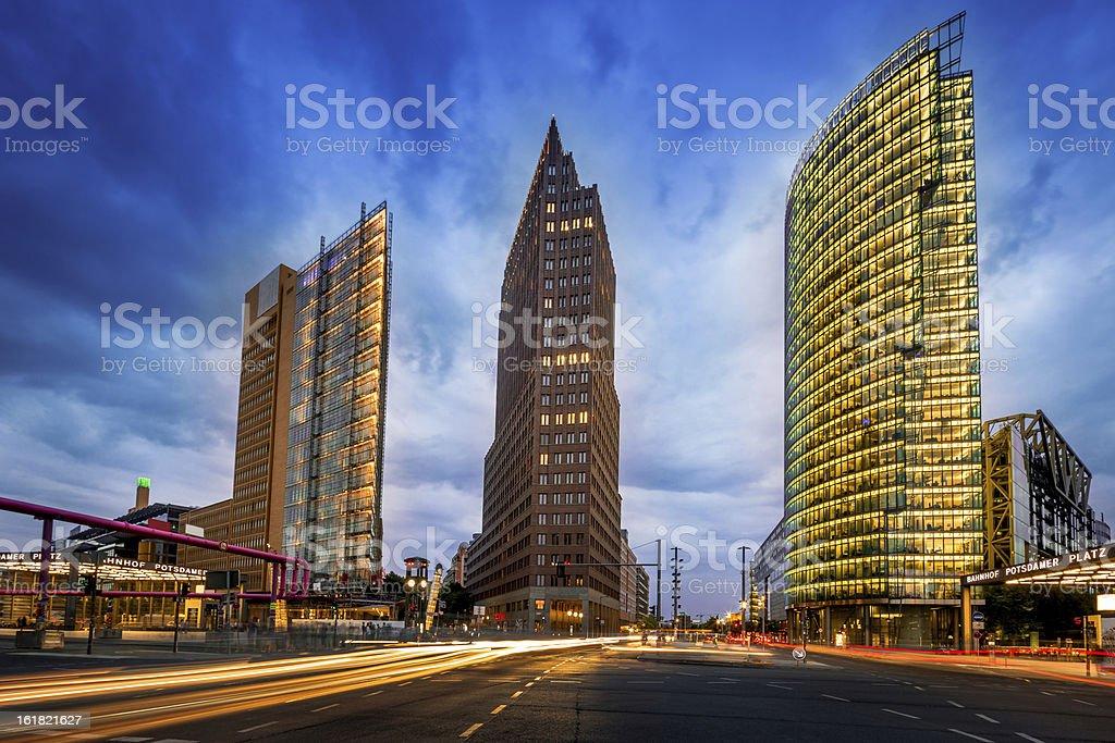 Berlin Potsdamer Platz royalty-free stock photo