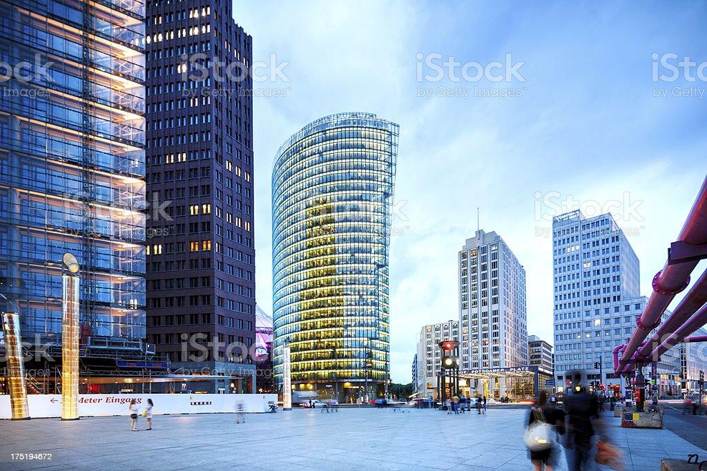 Berlin - Potsdamer Platz stock photo
