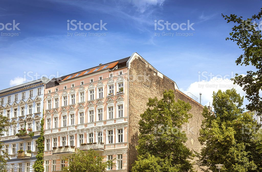 Berlin - Prenzlauer Berg royalty-free stock photo