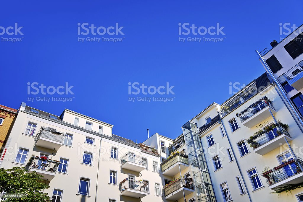 Berlin - Prenzlauer Berg royalty-free stock photo