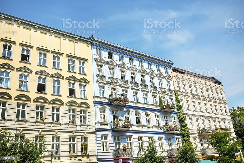 Berlin - Prenzlauer Berg stock photo