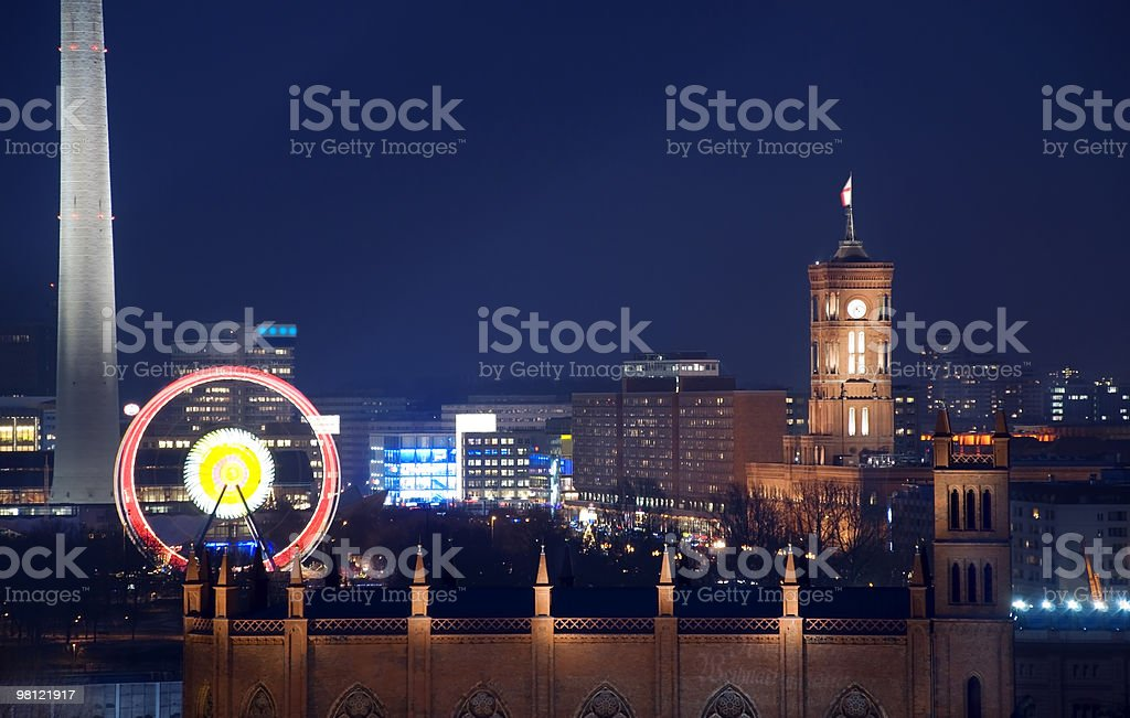 berlin rotes rathaus royalty-free stock photo