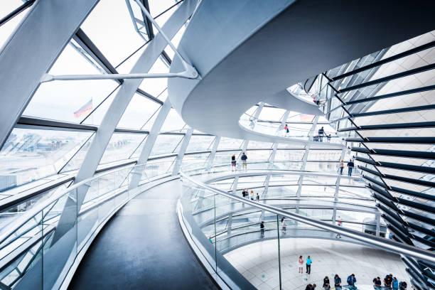Berliner Reichstag Kuppel, Deutschland – Foto