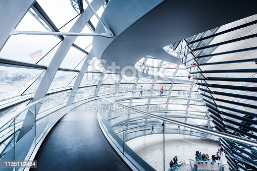 istock Berlin Reichstag Dome, Germany 1135112454