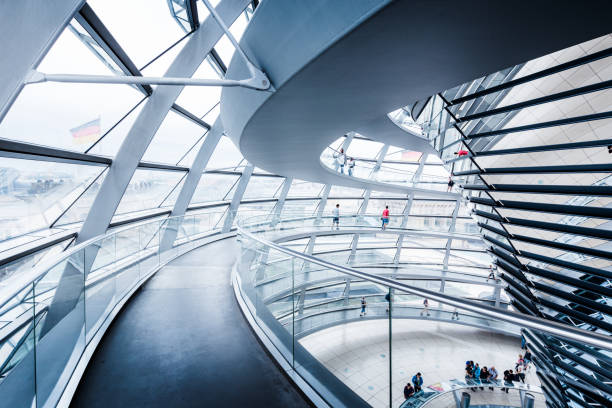 Berlin Reichstag Dome, Germany – Foto