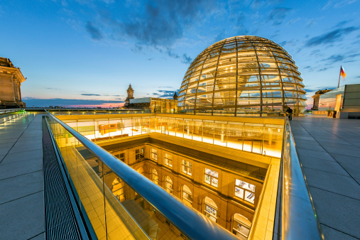 Berlin Reichstag Dome Stock Photo - Download Image Now