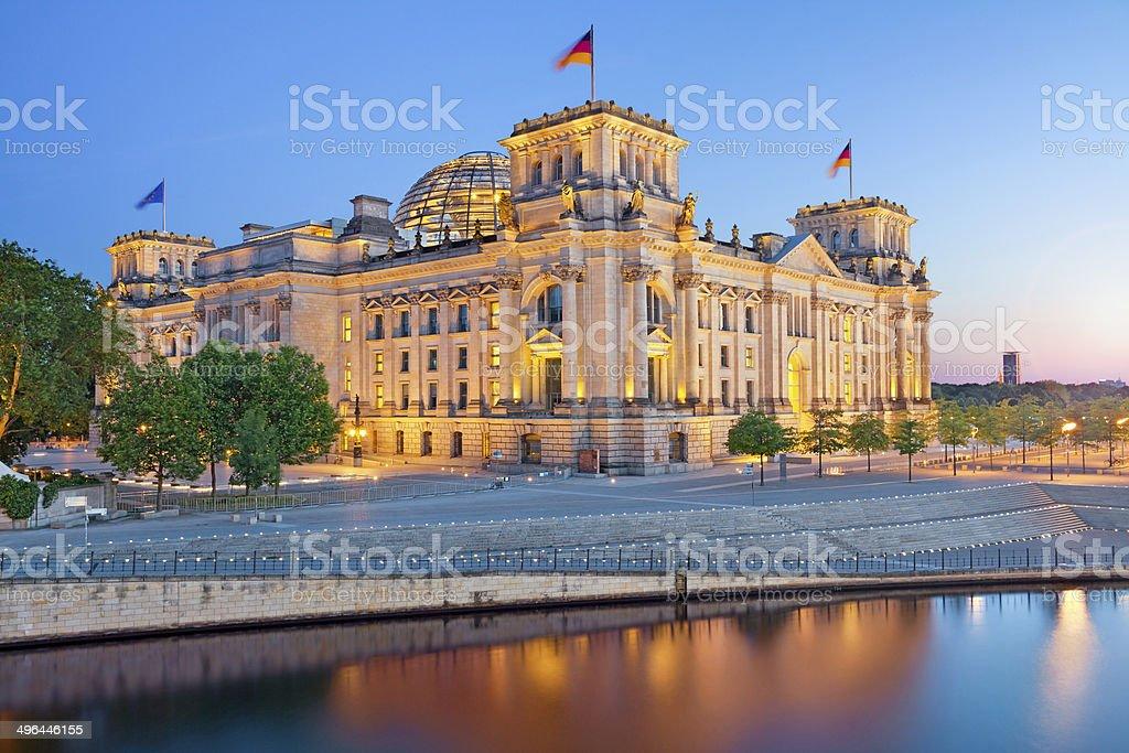 Berliner Reichstag. – Foto