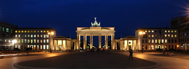 Berlin Series, Brandenburg Gate stock photo