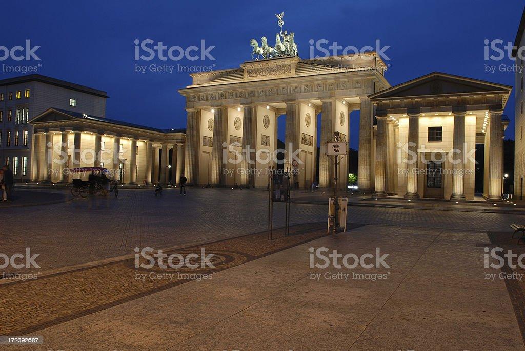 Berlin Series, Brandenburg Gate royalty-free stock photo