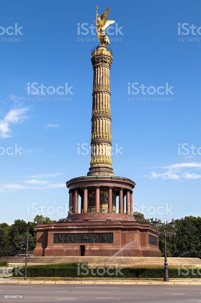 Berlin Siegessaule stock photo