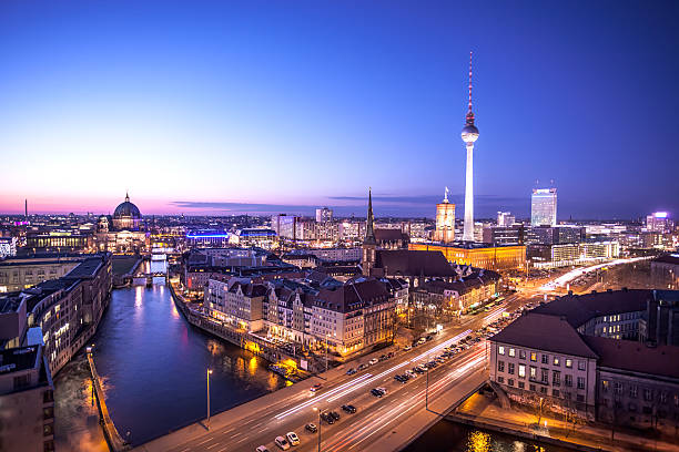 royalty free berlin skyline pictures images and stock photos istock. Black Bedroom Furniture Sets. Home Design Ideas