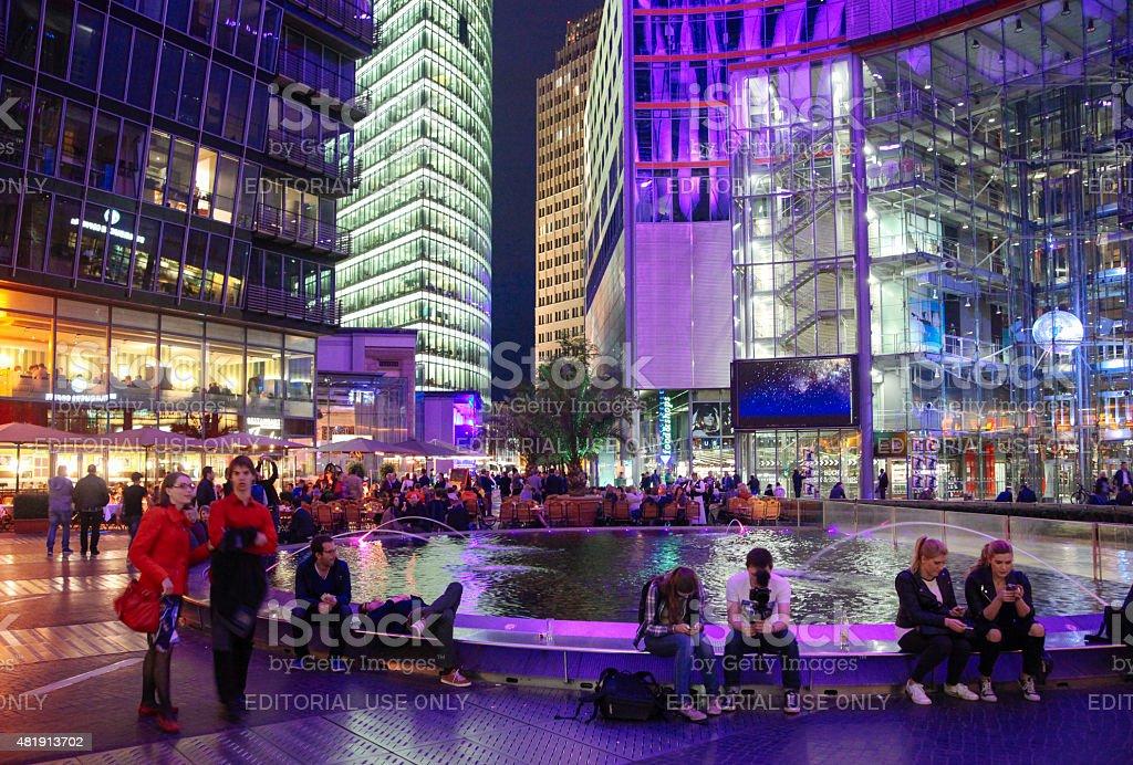 Berlin Sony centre stock photo