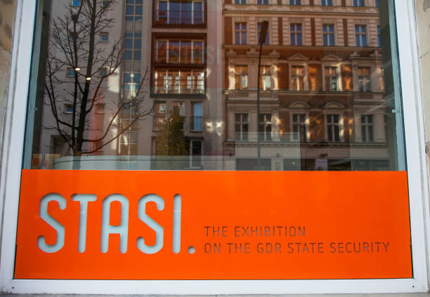 Berlin - Stasi Museum stock photo