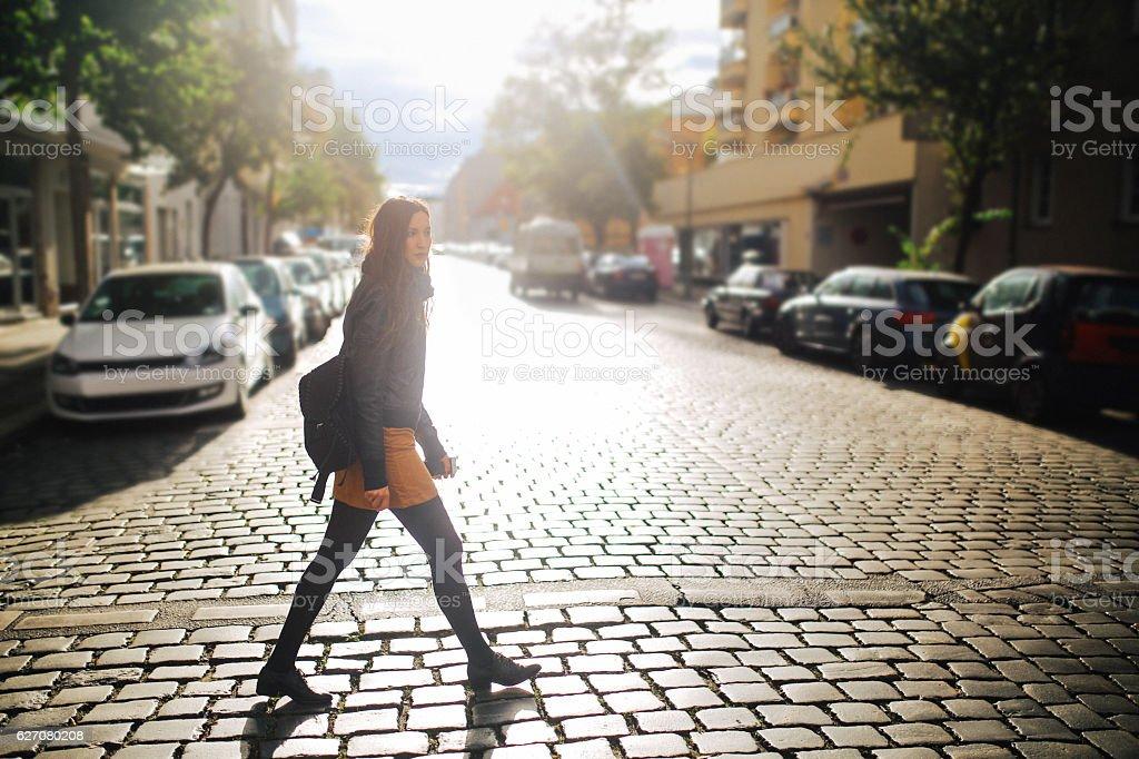 Berlin street style portrait - Photo