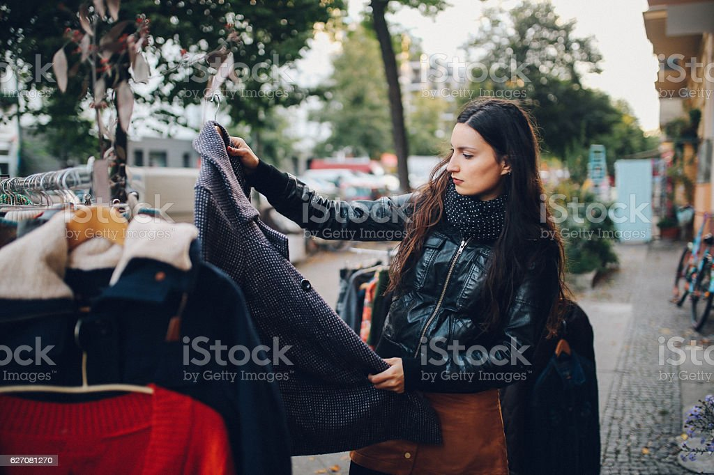 Berlin street style shopping - Photo