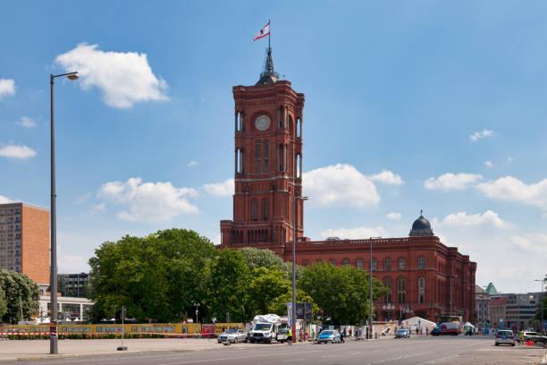 Berlin town hall stock photo