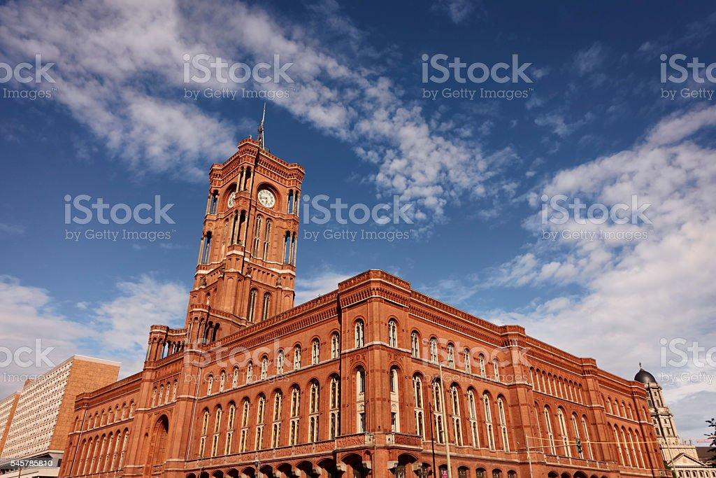 Berlin townhall stock photo