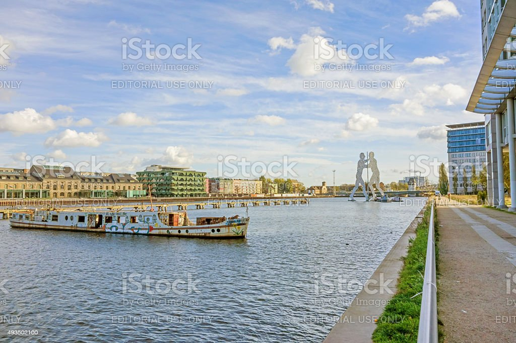 Berlin Treptow stock photo