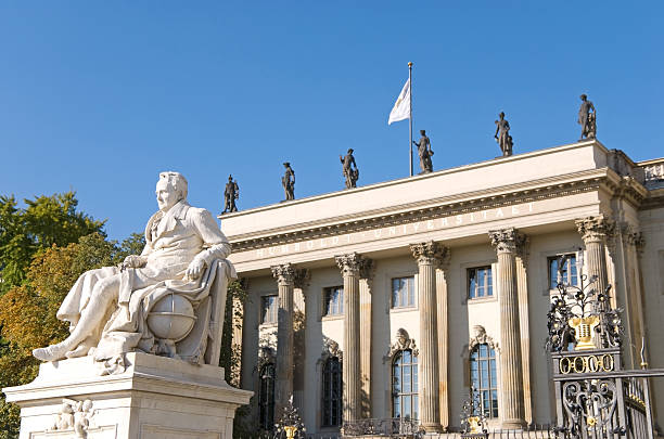 berlin university stock photo