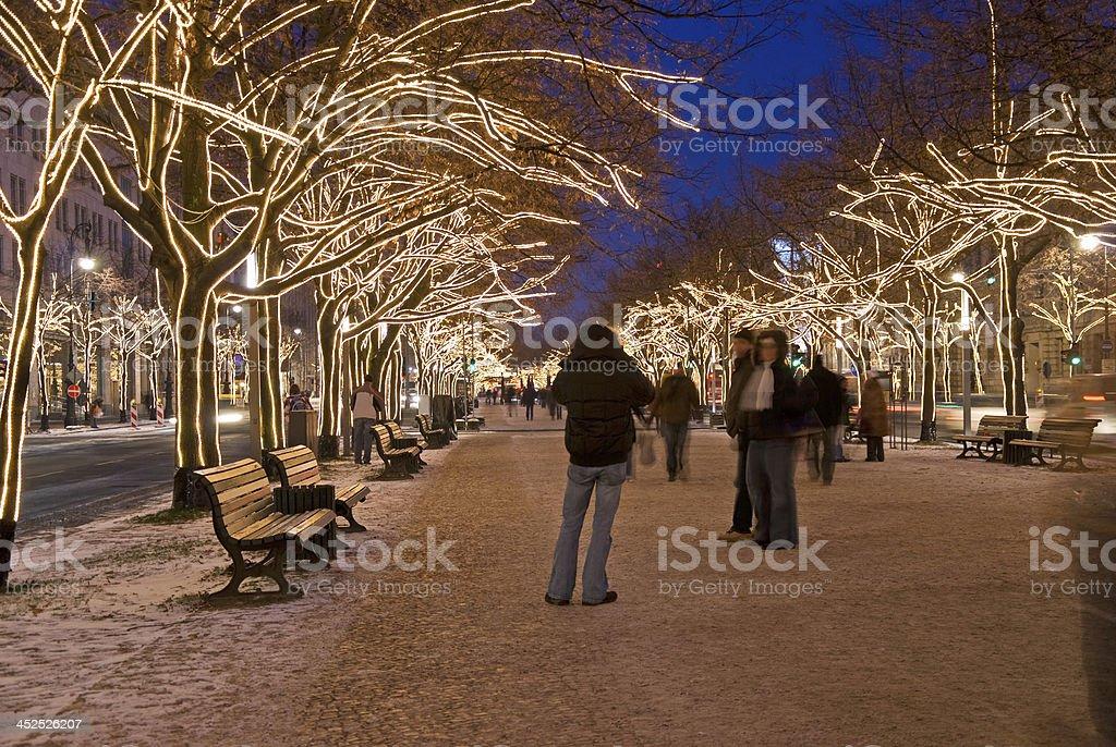berlin unter den linden royalty-free stock photo