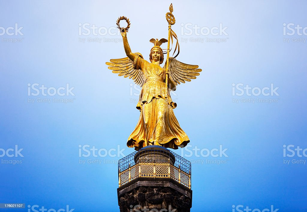 Berlin Victory Column royalty-free stock photo