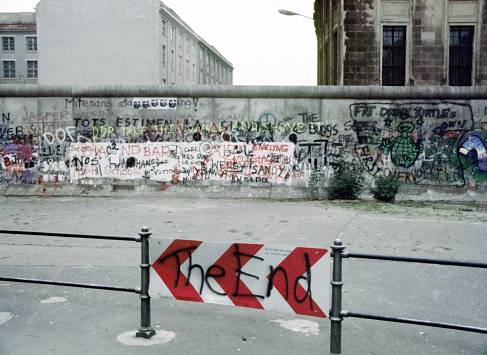 Berlin Wall Germany 1988 'The End'