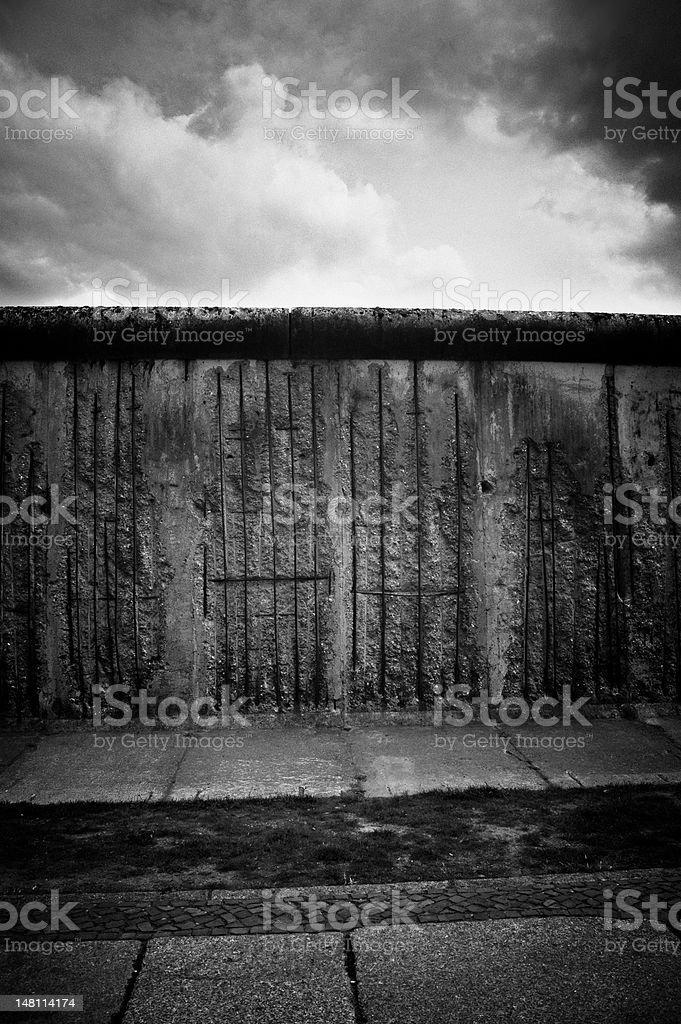 Berliner Mauer in schwarz und weiß – Foto