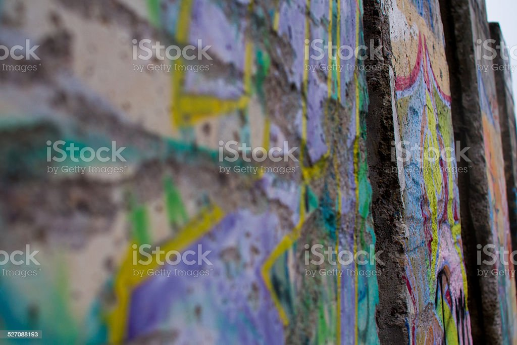 Berliner Mauer stock photo